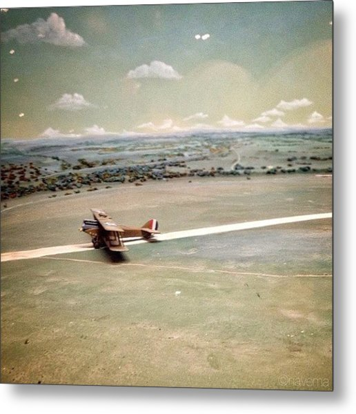 Petite Plane Metal Print