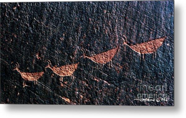 Petroglyphs1 Metal Print