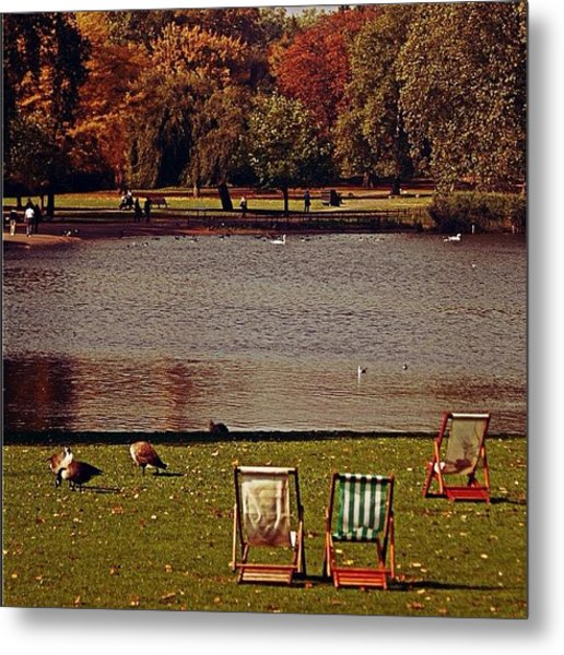 #photooftheday #london #regentspark Metal Print