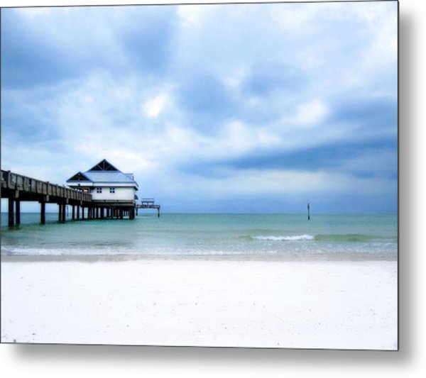 Pier 60 At Clearwater Beach Florida Metal Print