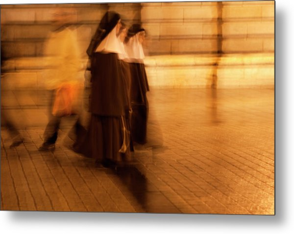 Piety In Motion Metal Print