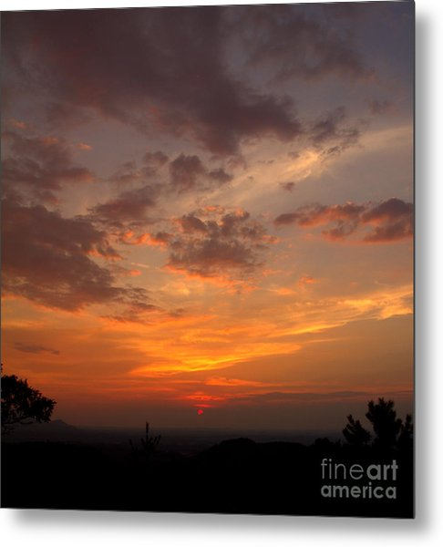 Pigeon Forge Sunset Metal Print