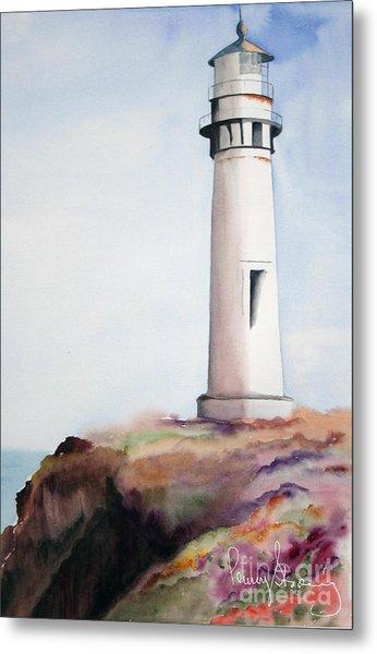 Pigeon Point Lighthouse Metal Print