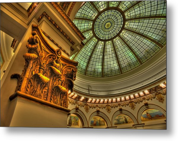 Pillar And Dome Metal Print