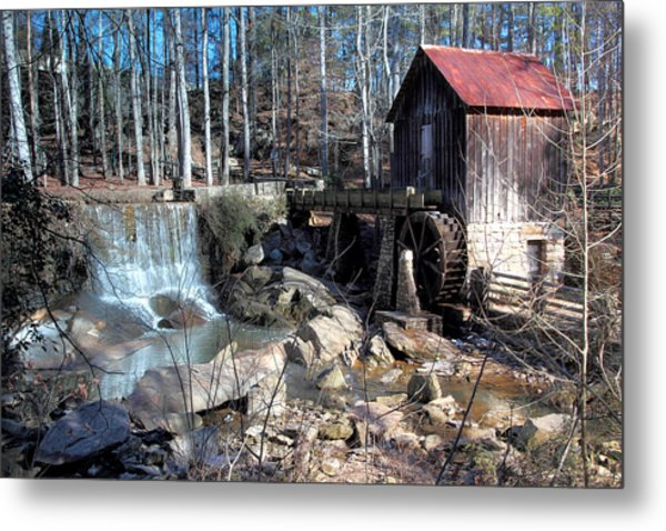Pine Run Mill Metal Print by Rick Mann