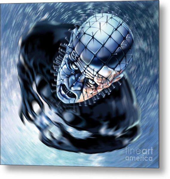 Pinhead Hellraiser Metal Print by Brian Gibbs
