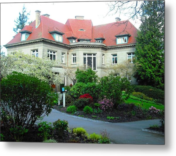Pittock Mansion Metal Print