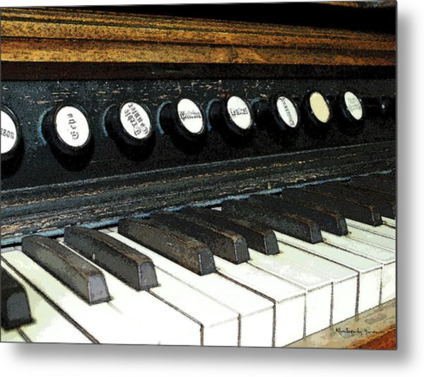 Play It Again Metal Print