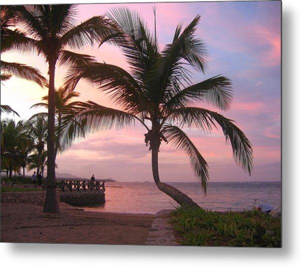 Playa Dorada Sunset 0681 Metal Print