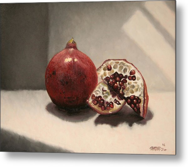 Pomegranate Metal Print