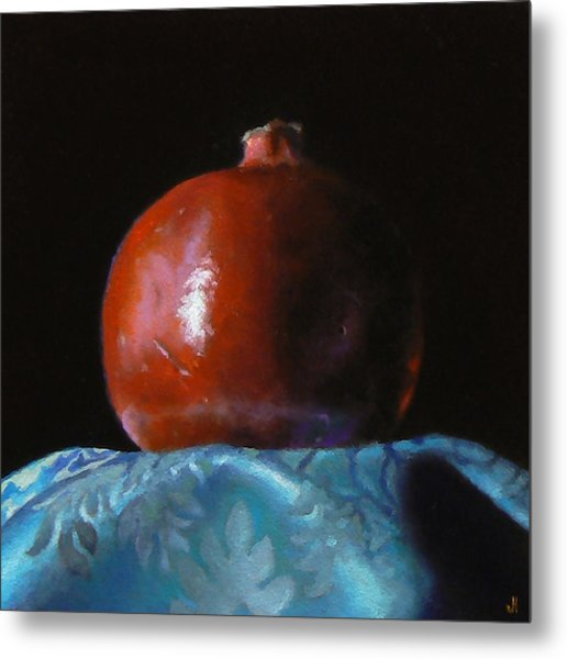 Pomegranate Number 2 Metal Print by Jeffrey Hayes