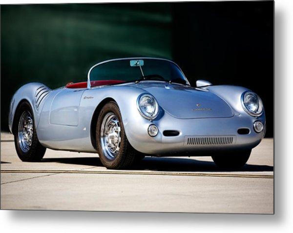 Porsche Spyder Metal Print by Peter Tellone