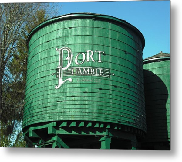 Port Gamble Metal Print