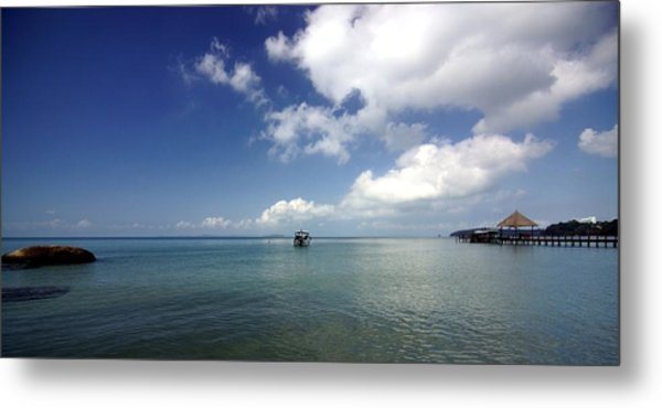 Port-lanscape Metal Print