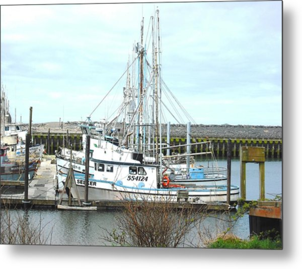 Port Of La Push Metal Print