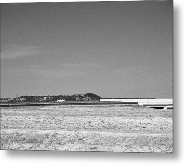 Postcard From The Edge Of Town Metal Print