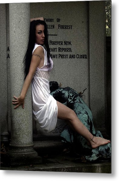 Prest And Closed Metal Print by Cinder Thorne