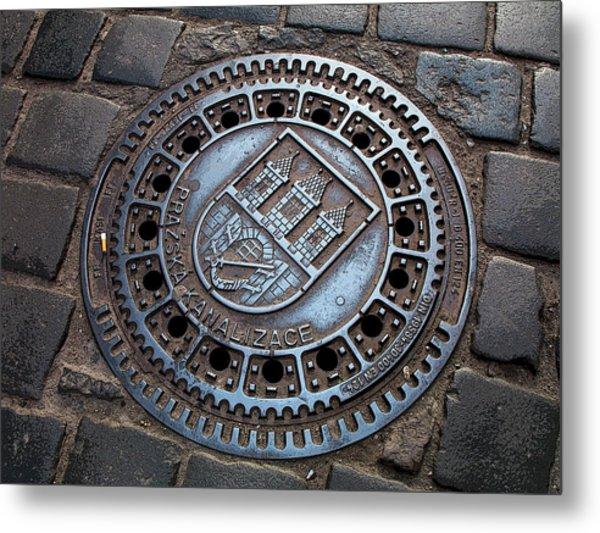 Pretty In Prague Metal Print by Joanne Riske