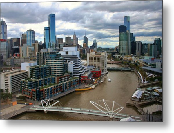 Primary Colors Of Melbourne Metal Print