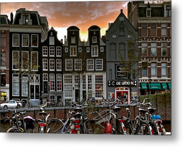 Prinsengracht 458. Amsterdam Metal Print