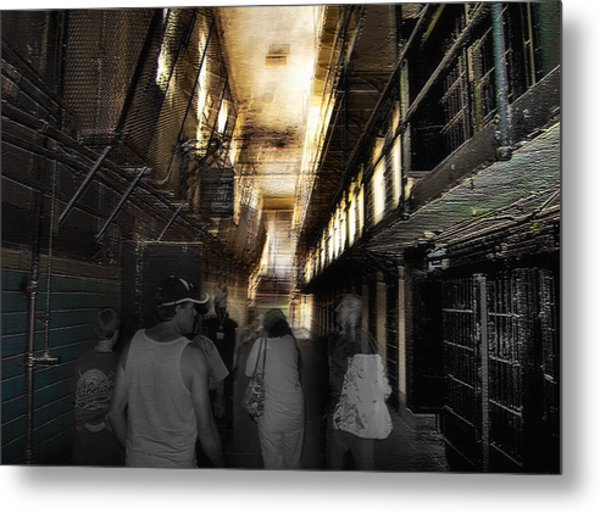Prison Tour 1 - Wyoming Frontier Prison Metal Print by Steve Ohlsen