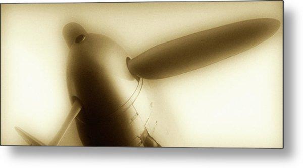 Propeller Plane  Metal Print