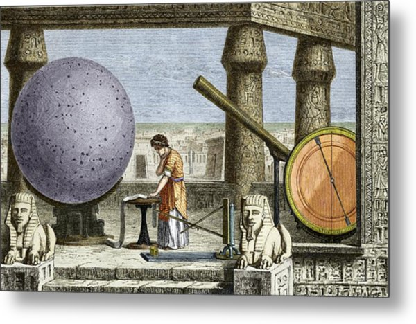 Ptolemy's Observatory, 2nd Century Ad Metal Print by Sheila Terry