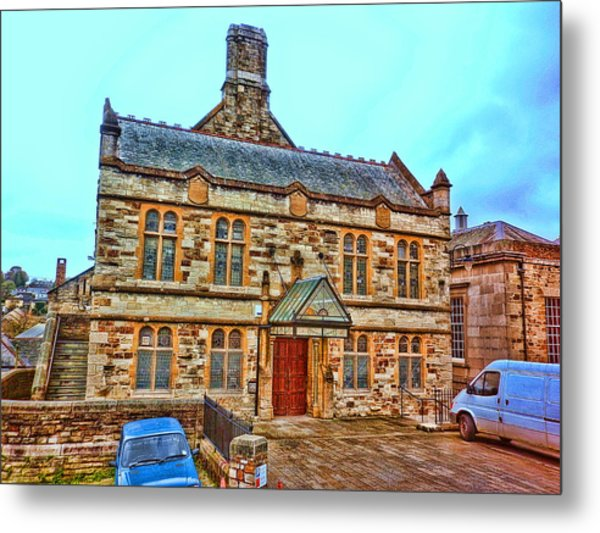 Public Rooms Metal Print by Mandy Jayne