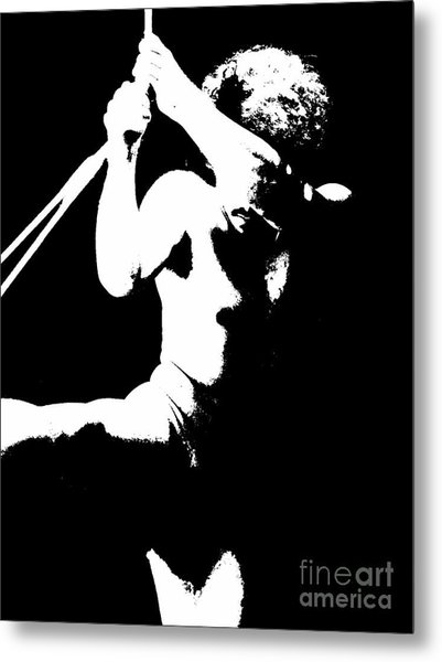 Pull Yourself Up Metal Print