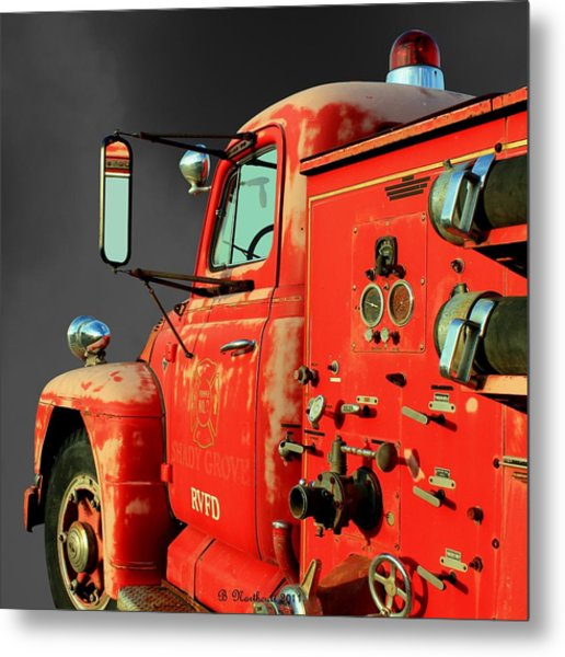 Pumper No. 2 - Retired Metal Print