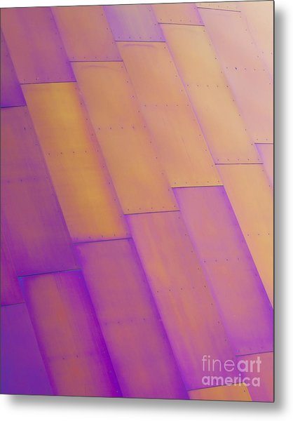 Purple Orange I Metal Print
