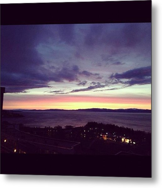 Purplesky Metal Print