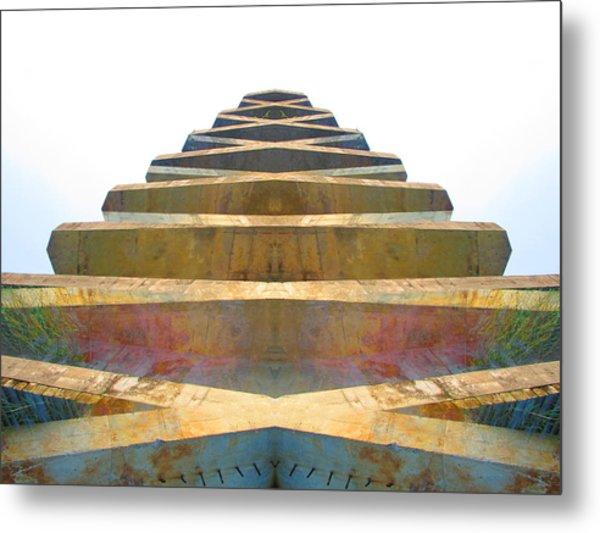Pyramid Metal Print by Michele Caporaso