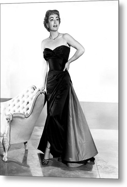 Queen Bee, Joan Crawford, In A Gown Metal Print by Everett