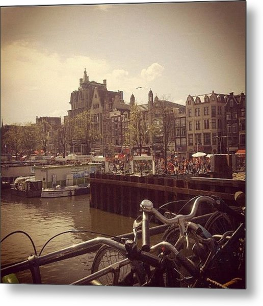#queensday #2012 #amsterdam Metal Print