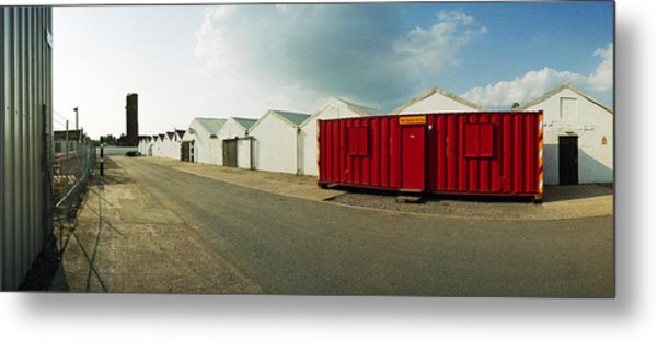 Raf Dumfries Technical Section Metal Print