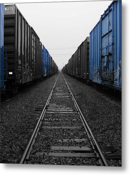 Railway To Nowhere  Metal Print