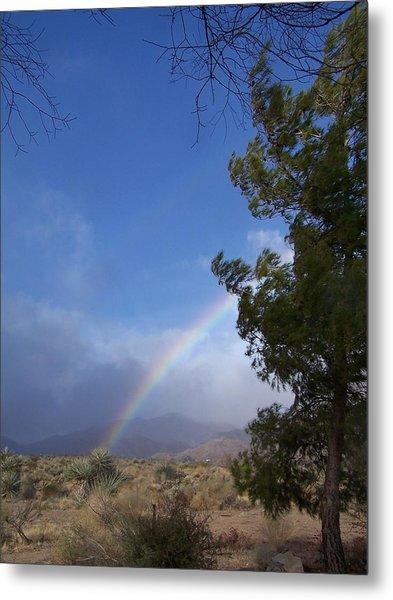 Rainbow Sky Metal Print