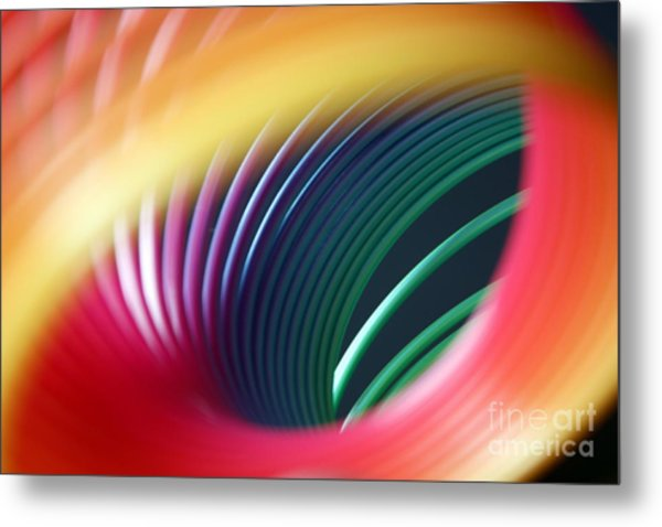 Rainbow Spring I Metal Print by Tracy Reese