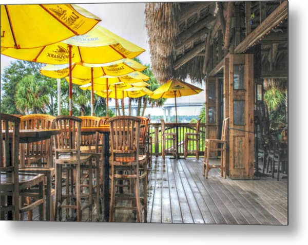 Rainy Afternoon At The Oar House Metal Print