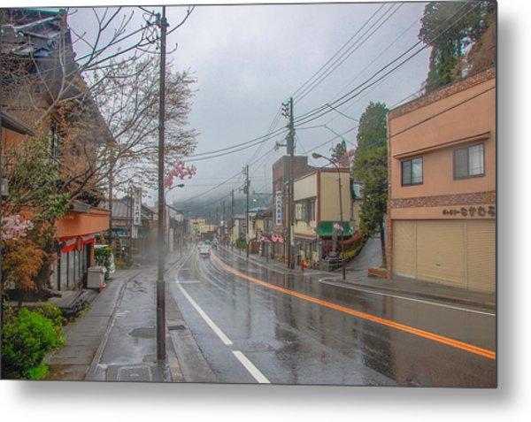 Rainy Day Nikko Metal Print