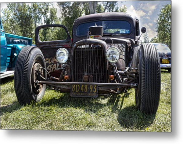 Rat Rod Metal Print by Peter Chilelli