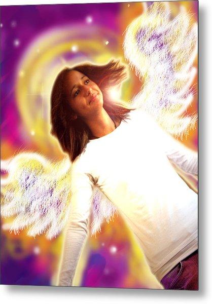Ravert.angelic 6 Metal Print
