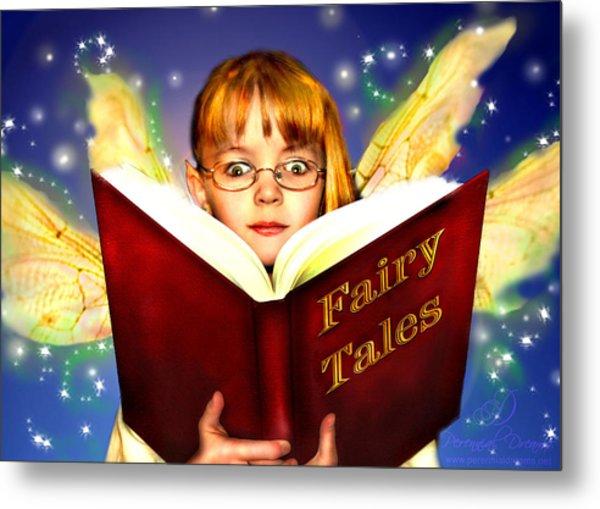 Read More Fairy Tales Metal Print