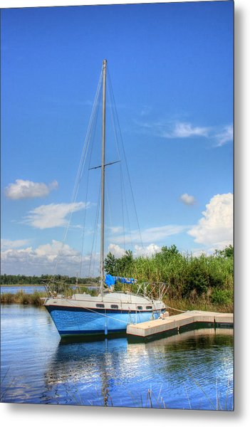 Ready To Sail Metal Print by Barry Jones