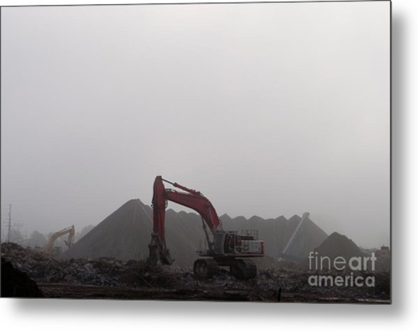 Red And Yellow Monsters Metal Print by Gary Chapple