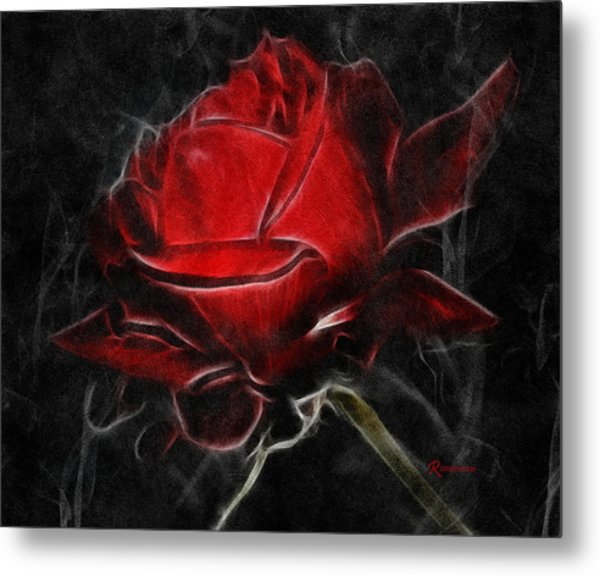 Red And Hot  Metal Print