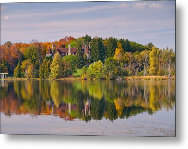 Reflection Metal Print by Luba Citrin