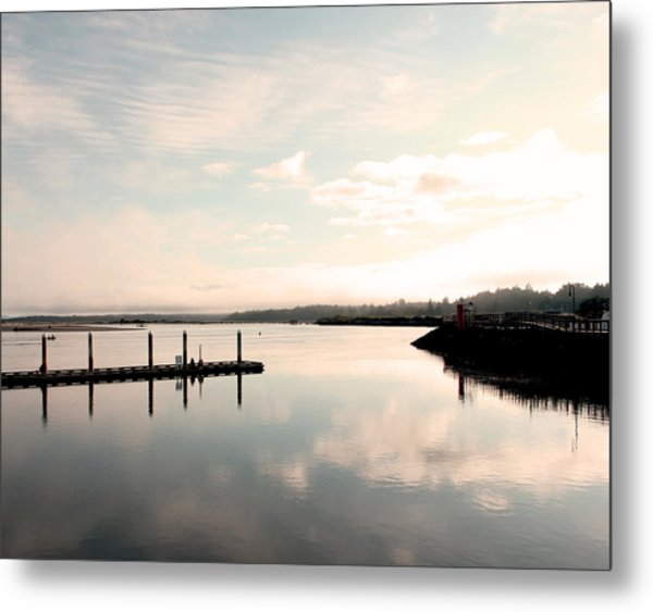 Reflection Metal Print by Shandel  Gauthier