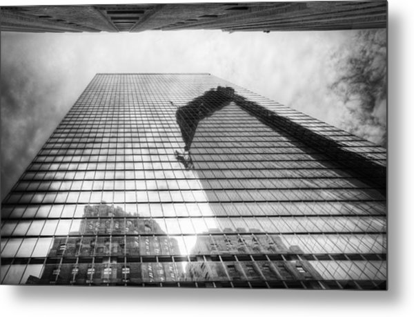 Reflections Of Freedom Metal Print by Vicki Jauron